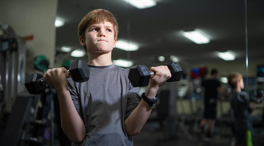 When Can My Child Start Lifting Weights